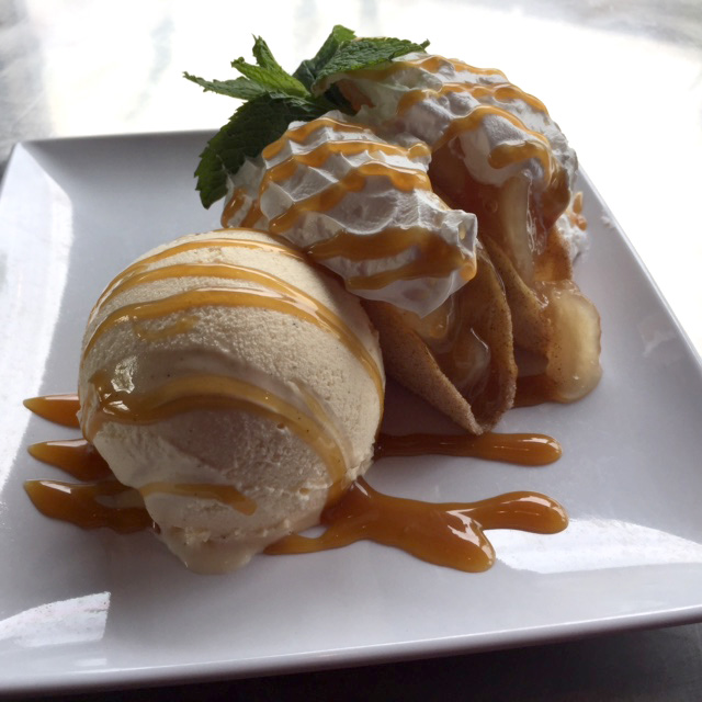 Apple Pie Taco